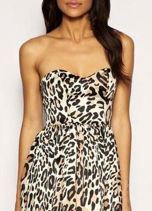 Стильное платье,леопард,papaya