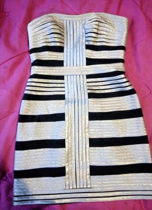 Фантастическое шелковое платье- корсет