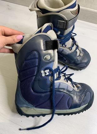 Сноубордические ботинки, ботинки для сноуборда, salomon kiana 39р, 25