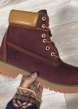 Шикарные ❄️зимние женские ботинки топ качество timberland 🌍