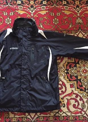Куртка/пуховик columbia titanium оригинал размер l