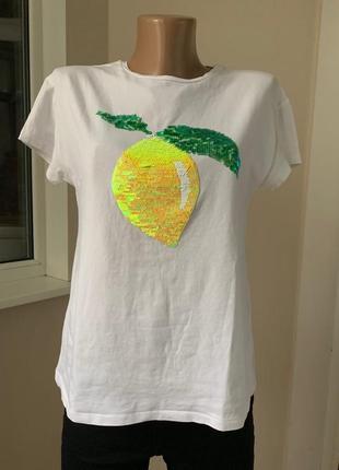 Футболка с лимоном