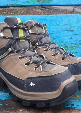 Оригинальные ботинки  quechua mh500 mid 38 размера 24 см