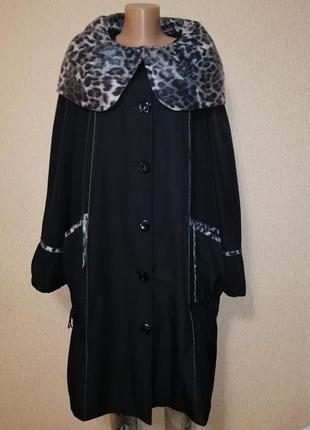 🔥🔥🔥красивая женская демисезонная куртка, пальто 58 размера vistar🔥🔥🔥