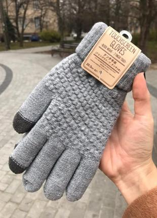 Перчатки сенсорные touchscreen gloves