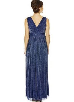 F&f шикарное вечернее нарядное новогоднее платье, р.16-44, наш 50-52