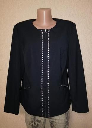 🔥🔥🔥стильный женский пиджак, жакет с заклепками creation🔥🔥🔥