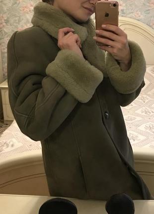 Дублёнка, тёплое пальто, кожаное пальто
