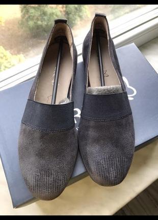 Туфли мокасины caprice
