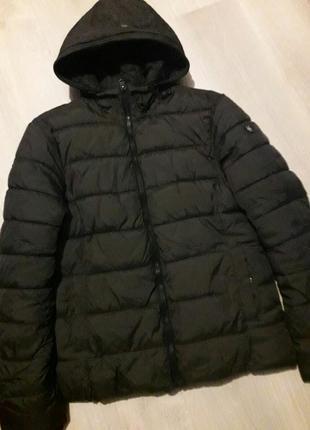 Брендовая куртка с капюшоном хаки silver creek