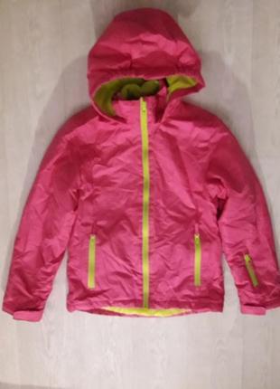 Термокуртка термо курточка горнолыжная сноубордическая зимняя куртка  crane 146/152