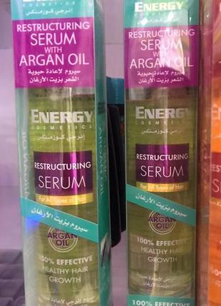 Профессиональная сыворотка для волос с аргановым маслом