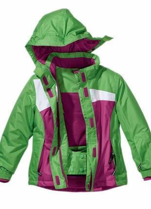 Термокуртка термо лыжная куртка сноубордическая crivit sports xs