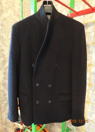 Шерстянное мужское пальто l