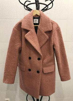 Шуба пальто барашек