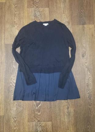 Классный свитер с рубашкой h&m