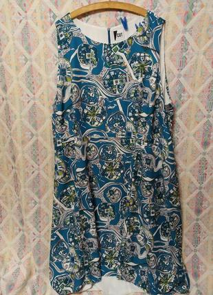 """Невероятное платье с """"хвостиком"""" ассиметричное бошьшой размер 30 32 евро 58"""