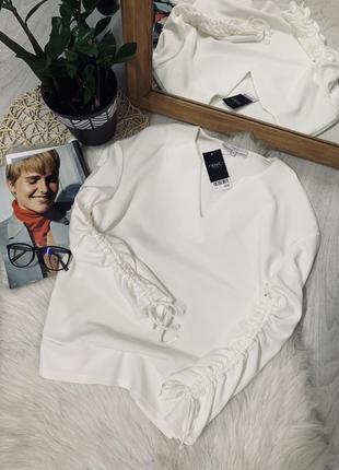 Джемпер білого кольору від next🌿
