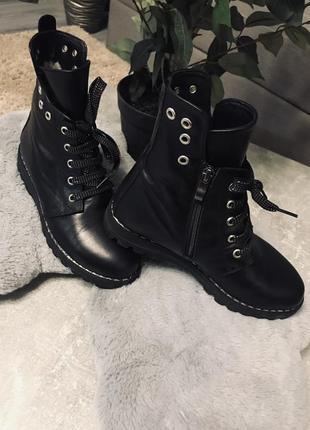 Крутые зимние ботинки!!!