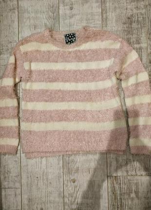 Розовый свитер, кофта