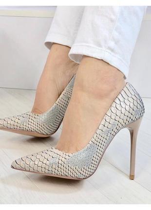 Туфлі, під шкіру пітона