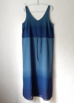 Стильное  шифоновое платье  сарафан