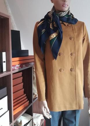Paul&joe sister! оригинал! легкое весенне-осенние двухблртное полу пальто!