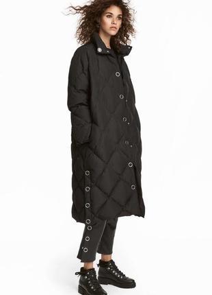 Пуховик пальто h&m premium quality