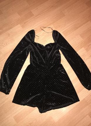 Платье комбинезон ромпер bershka