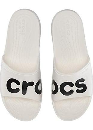 Слайды крокс crocs classic graphic slides, w9, w10