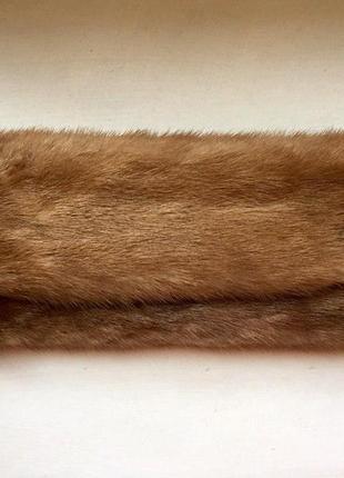 Клатч из меха норки