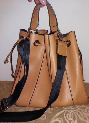 Фирменная сумка мешок zara