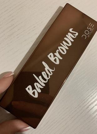 Dose baked browns палитра теней
