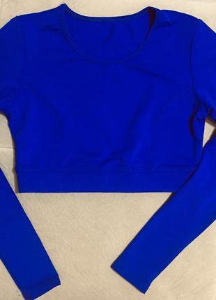 Рашгард ярко-синий