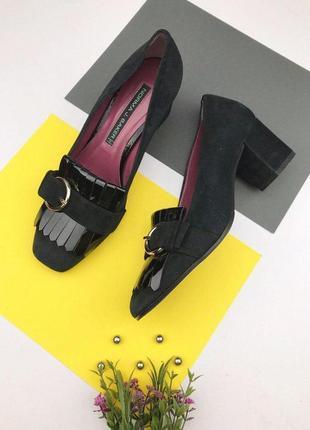 Итальянские замшевые туфли norma j. baker