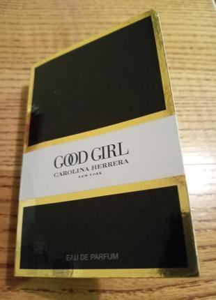 Cood girl пробник 1.5мл