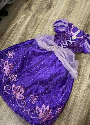 Плаття карнавальне рапунцель