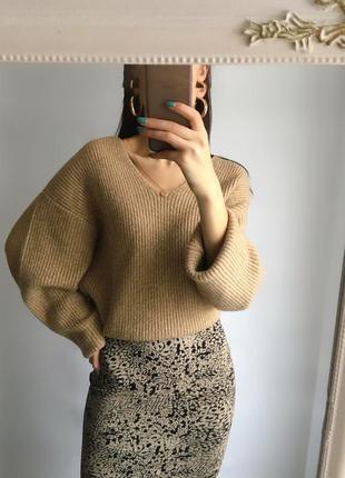 Идеальная юбка миди в актуальный принт