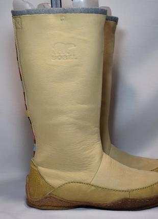 Термоботинки sorel fernie tall waterproof ботинки сапоги зимние. оригинал. 39-40 р./25 см.