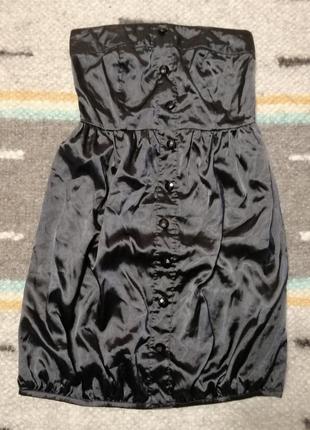 Платье без бретелей