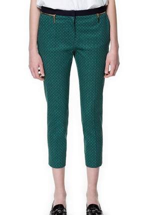 Шикарные классические зауженные штаны брюки zara торг