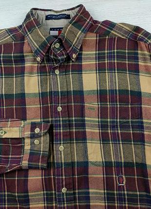 Vintage рубашка tommy hilfiger xl