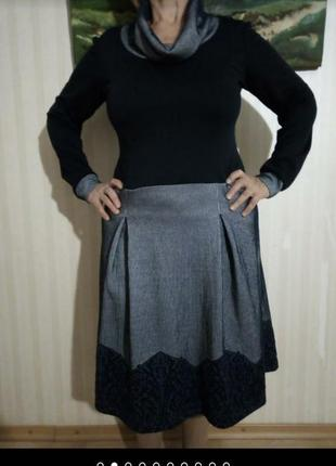 Платье теплое,натуральный состав