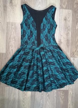 Платье вечернее короткое