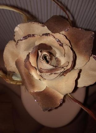 Брошь 🌹 роза