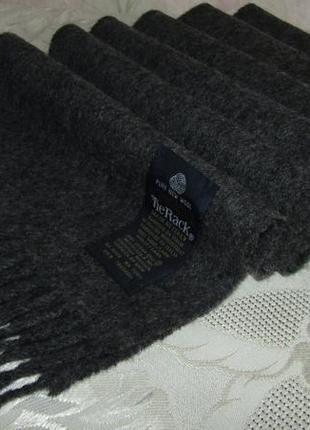 - tie rack - шикарный шарф 100 % шерсть италия