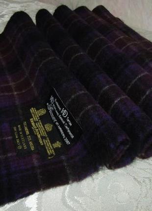 - kinlock anderson - шикарный шарф 75 % шерсть 25 % ангора