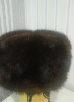 Норковая шапка обманка