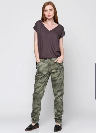 Камуфляжные брюки повседневные 42 fransa