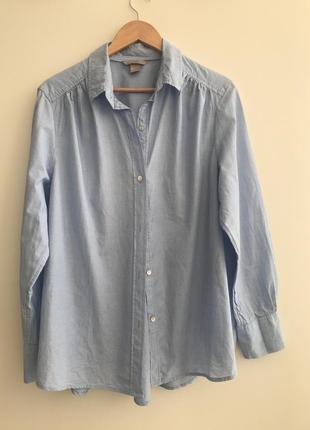 Рубашка h&m p.44/14. cotton #205.  1+1=3🎁